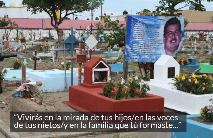 Víctor Hugo Álvarez Guillón, uno de los 35 encontrados en Boca del Río. Foto: Blog Expediente.