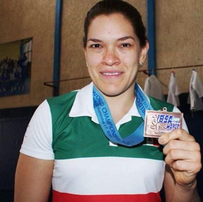 Lenia Fabiola Ruvalcaba, medalla de oro en judo. Foto: @CONADIS_MX
