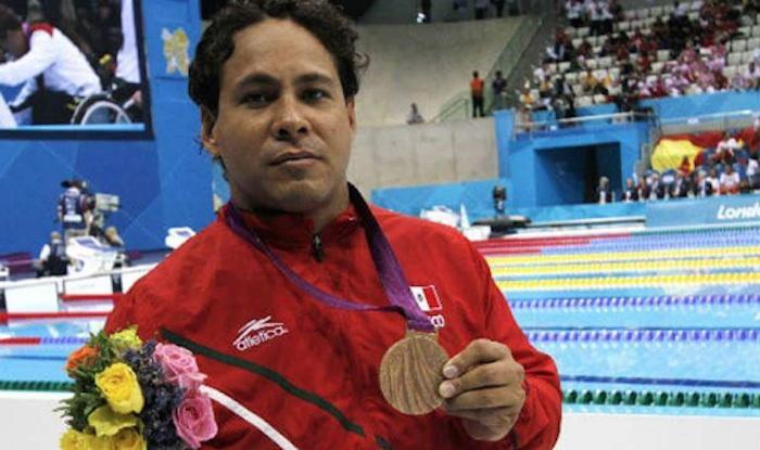 Pedro Rangel, bronce en 100 metros brazo masculino. Foto: @CONADIS_MX