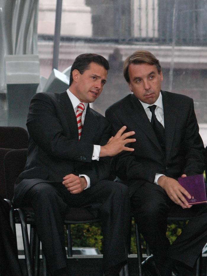 El Presidente Enrique Peña Nieto y el Foto: Cuartoscuro