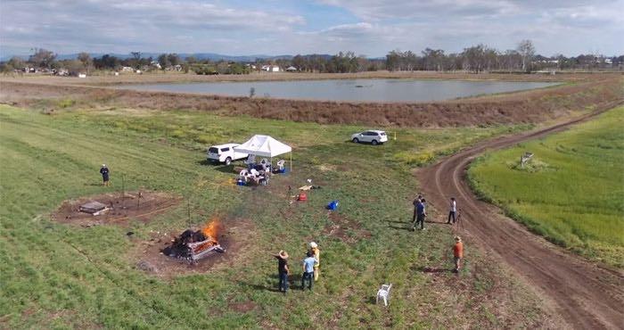 El lugar de Australia donde se hizo el experimento. Foto tomada de video de Youtube