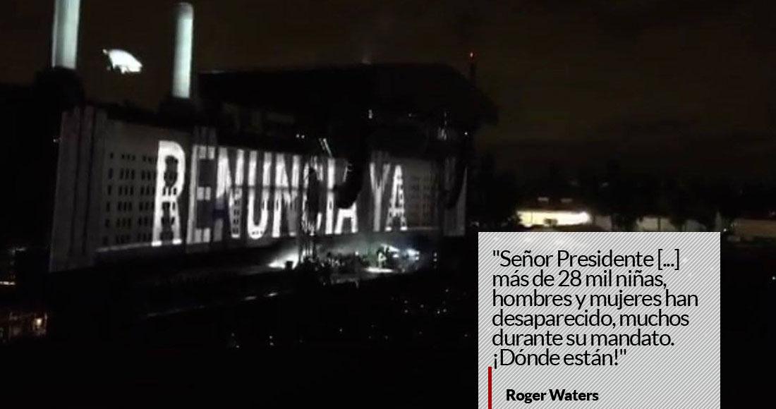 Asistentes al concierto de Roger Waters deberán portar tarjeta de seguridad