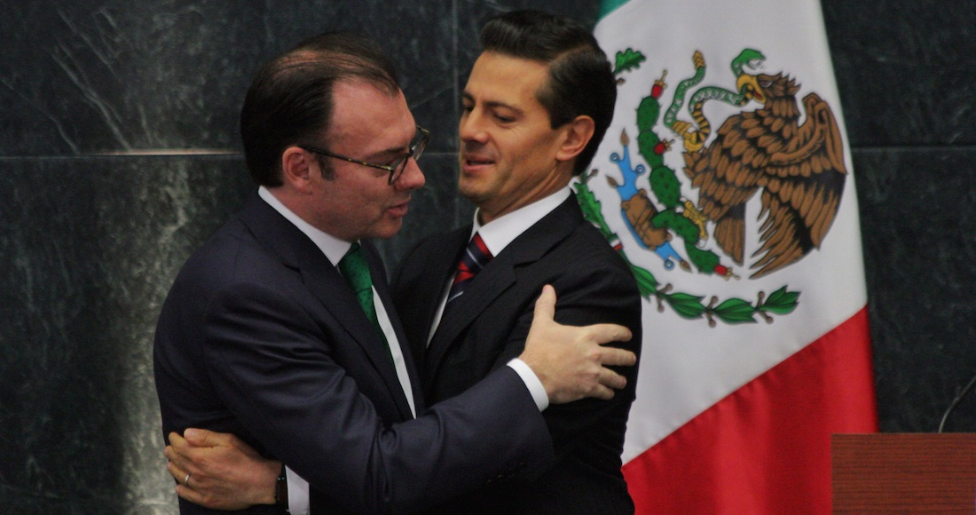 Donald Trump ahora califica a Videgaray como un ex secretario brillante