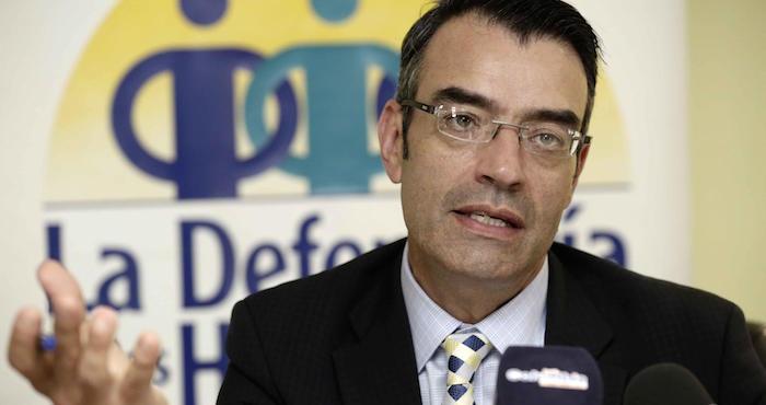 El presidente de la Comisión Interamericana de Derechos Humanos (CIDH), James Cavallaro. Foto: EFE