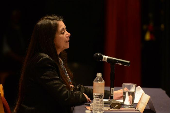 Cervantes es necesario en un mundo como el contemporáneo que vive en un permanente estado de guerra, dijo Boullosa. Foto: FIC