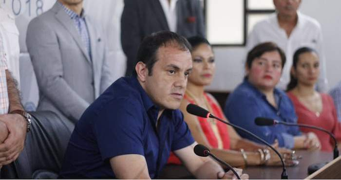 Cuauhtémoc Blanco sí firmó contrato millonario para ser candidato: Fiscalía