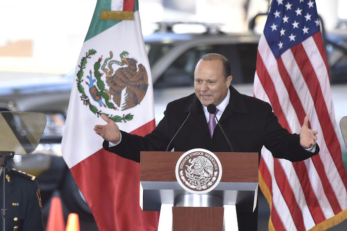 César Duarte, ex Gobernador de Chihuahua. Foto: Cuartoscuro