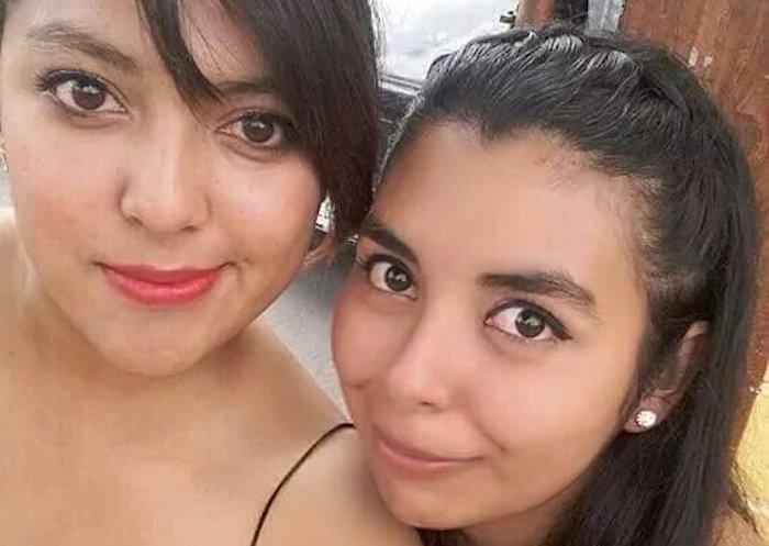 María del Sol Guerrero Velazque, 21 años, y Dania Itzel Espinoza León. Foto: Facebook
