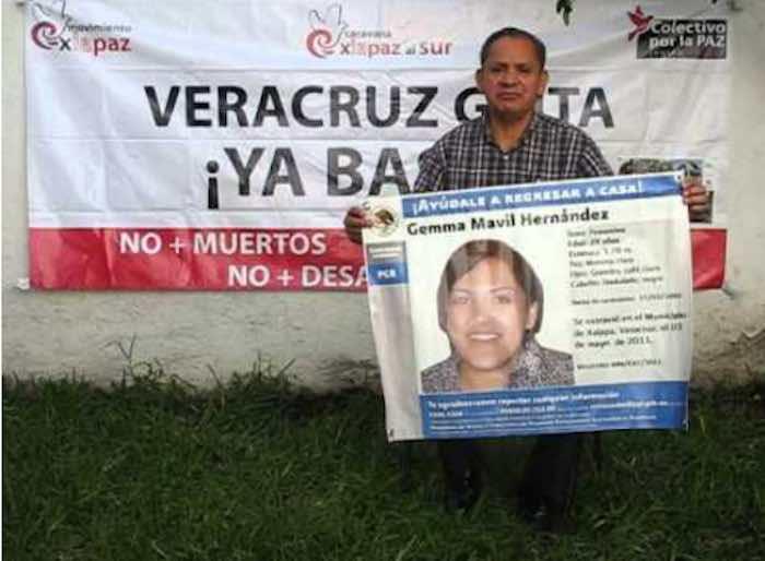 Pedro Mavil busca darle sepultura a su hija. Foto: BlogExpediente