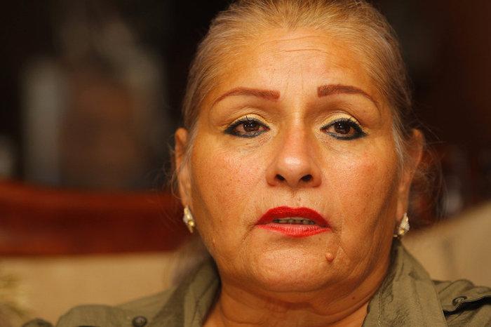 María Hortensia Rivas Rodríguez, la presidenta de la Asociación Familias Unidas en la Búsqueda y Localización de Personas Desaparecidas. Foto: Vanguardia
