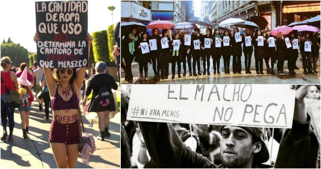 En países como Argentina, México, Chile, Perú, Uruguay, Paraguay, Bolivia, Guatemala, Estados Unidos, Francia y España, mujeres saldrán a manifestarse en contra de los feminicidios. Foto: Especial.