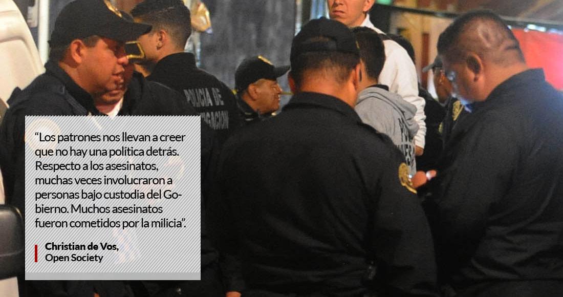 Renato Sales: repunte de homicidios, insustancial