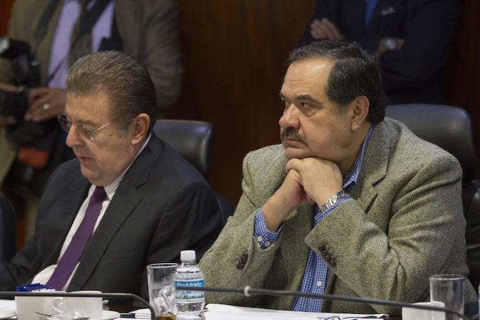 El Senador Héctor Larios apuntó que el Gobierno se centró en el crimen y descuido los delitos comunes. Foto: Cuartoscuro