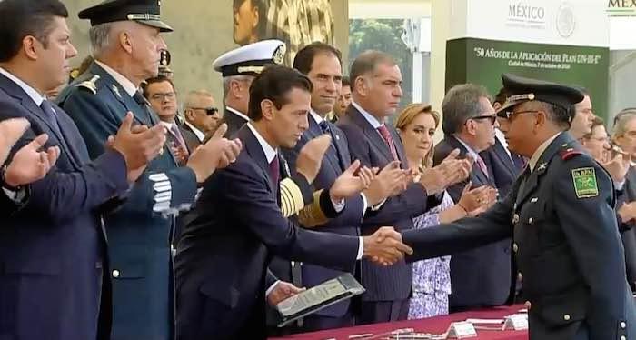 Peña Nieto presidirá ceremonia conmemorativa por 50 años del Plan DN-III