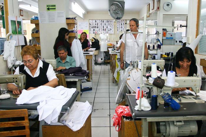 La maquila estadounidense encontró en México, mano de obra a la que puede pagarle poco dinero. Foto: Cuartoscuro