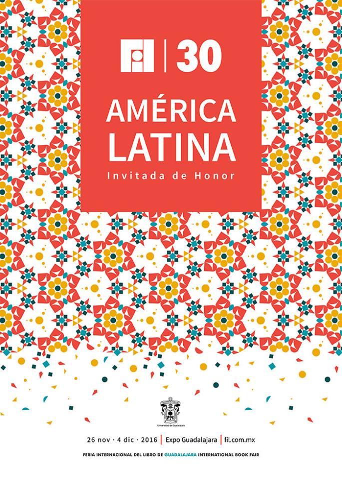 Cartel oficial de la Feria Internacional del Libro 2016. Foto: FIL