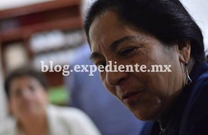 Consuelo Cano, maestra por 36 años en la Universidad Veracruzana. Foto: Yerania Rolón, BlogExpediente