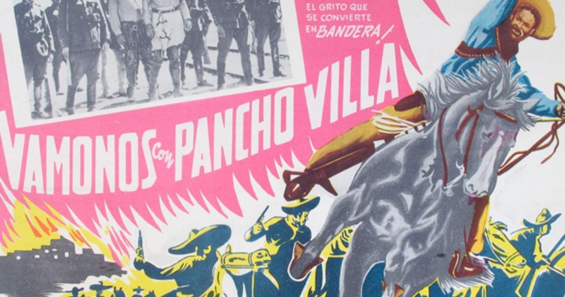 """El póster de la película """"Vámonos con Pancho Villa"""". Imagen: Especial/WikiMéxico"""