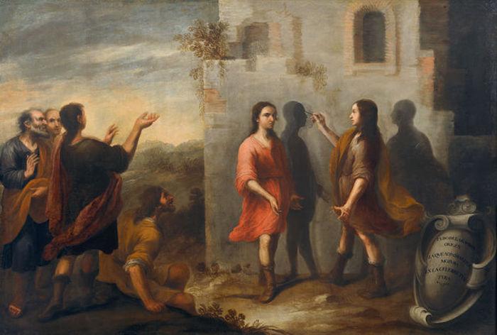 El origen de la pintura - La invención de la pintura. Matías de Arteaga. (1665)