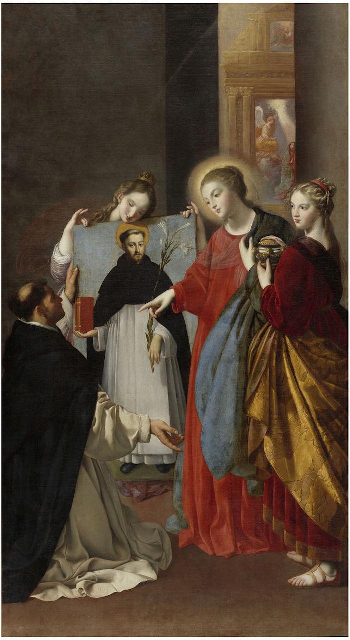 Santo Domingo en Soriano. Fray Juan Bautista Maíno. (1629)