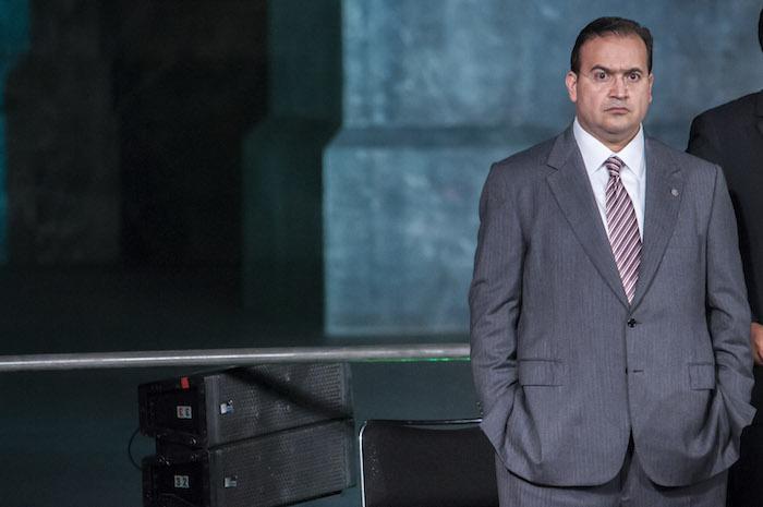 Javier Duarte de Ochoa, ex Gobernador de Veracruz, es prófugo de la justicia. Foto: Diego Simón Sánchez, Cuartoscuro