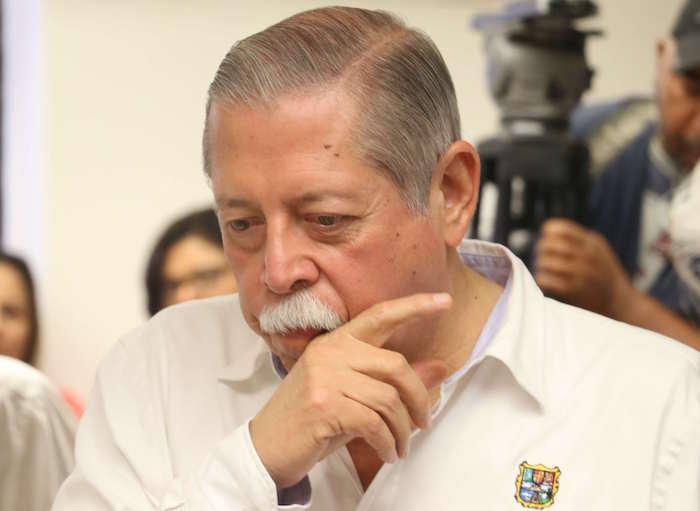 Egidio Torre Cantú fue elegido candidato del PRI después de la muerte de su hermano. Foto: Saúl López, Cuartoscuro