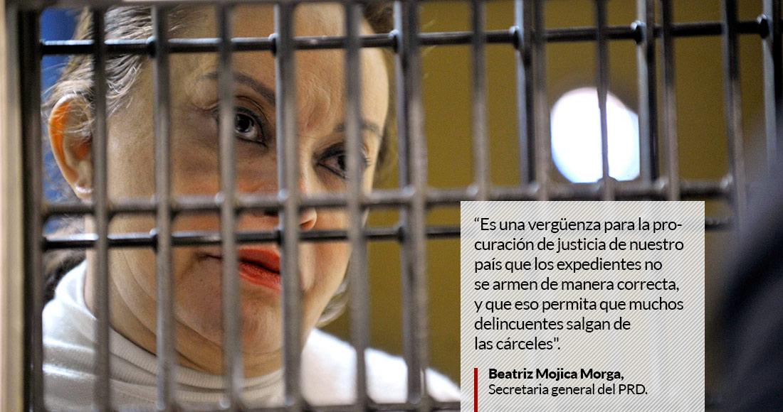 Corte rechaza atraer amparo de Gordillo sobre prisión domiciliaria