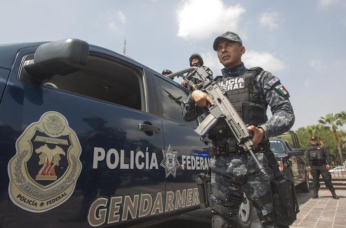Elementos de la Gendarmería Nacional han participado de lleno en los operativos de seguridad en Acapulco. Foto: Manuela Garcia; Cuartoscuro