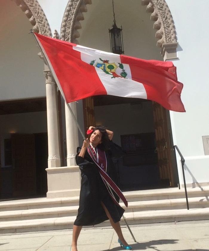 Diana llegó a Estados Unidos de Perú en 1999, de cinco años y de la mano de sus padres. Foto: Cortesía