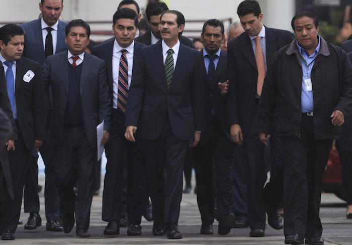 El ex gobernador de Sonora, Guillermo Padres Elías, acudió al Reclusorio Oriente el 10 de noviembre. Foto: Gabino Acevedo, Cuartoscuro