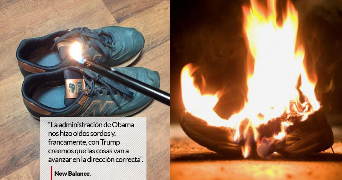 quemar zapatillas new balance