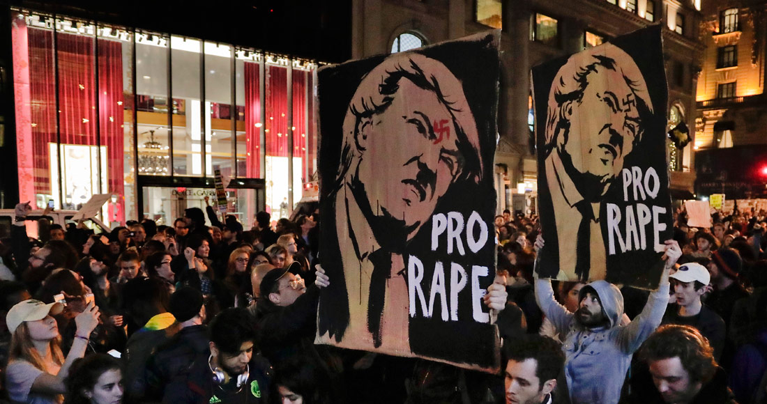 Convocan nuevas protestas contra Trump en varias ciudades de EEUU