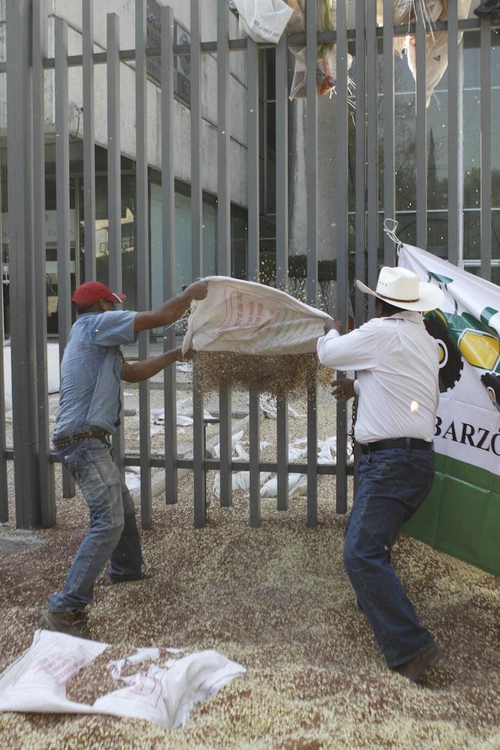 El campo mexicano sufrió una real devastación a partir de la competencia con los productos altamente subsidiados de Estados Unidos, alertan líderes. Foto: Cuartoscuro