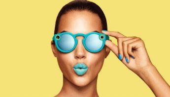 Snapchat entró también al mundo del hardware. Imagen: Spectacles.com