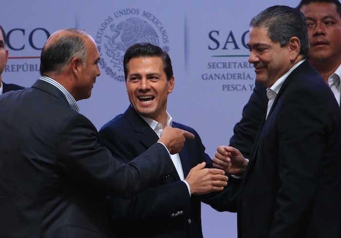 Iniciativas de ley impulsadas por el Presidente Enrique Peña Nieto han sido desincentivadas por el PRI. Foto: Cuartoscuro