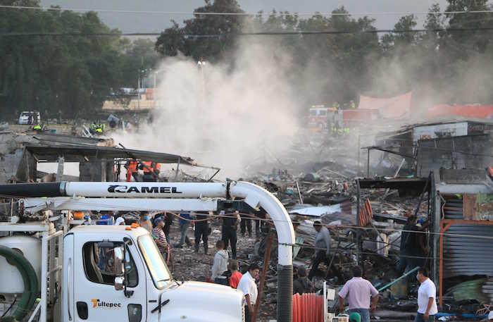 La tragedia en Tultepec. Foto: Cuartoscuro