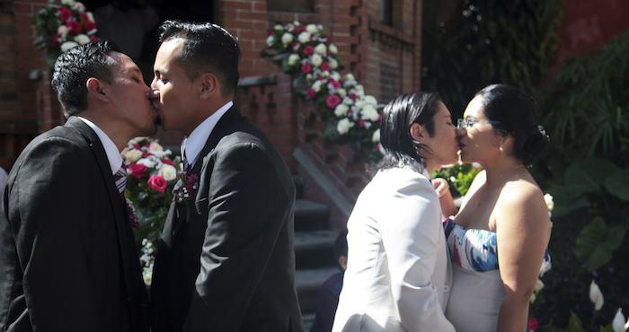 Aún cuando las leyes locales no permitan el matrimonio igualitario, tienen que respetar el estado civil de sus ciudadanos. Foto: Cuartoscuro.