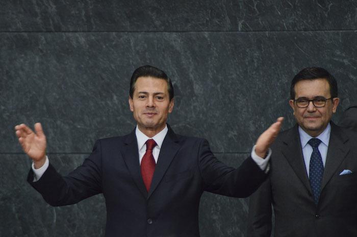 El Presidente Enrique Peña Nieto se prepara la visita del Relator de la ONU, acusaron oenegés. Foto: Galo Cañas, Cuartoscuro