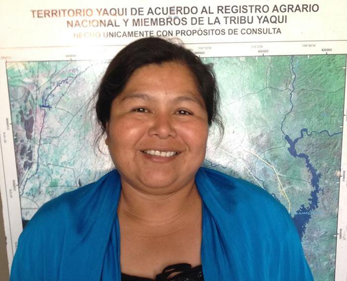 Maria Anabela CarlÓn Flores fue secuestrada ayer junto con su esposo. Foto: Facebook