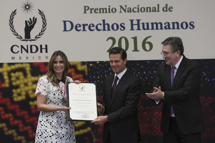 Peña Nieto aseguró que trabajará en tres clases de violaciones a los derechos humanos. Foto: Moisés Pablo, Cuartoscuro