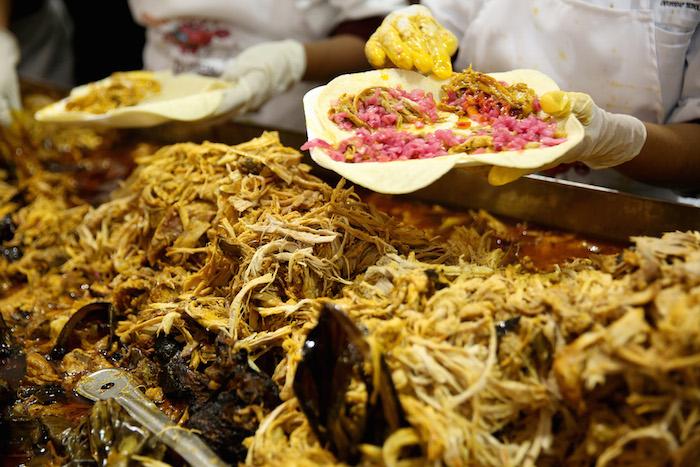 ¿Qué tal un taco de cochinita en Mérida? Foto: Cuartoscuro