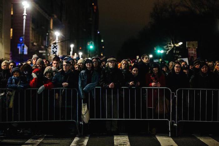 Resistencia contra Trump. Foto: EFE