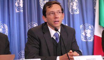 Ramón Padilla Pérez, Jefe de la Unidad de Desarrollo Económico de la sede subregional en México de la CEPAL. Foto: Centro de Información de las Naciones Unidas en México