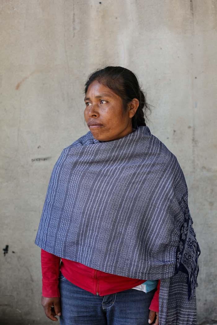 Elia Tamayo, madre del menor de 13 años asesinado por una bala de goma de la Policía de Moreno Valle en 2014. Foto: Cuartoscuro