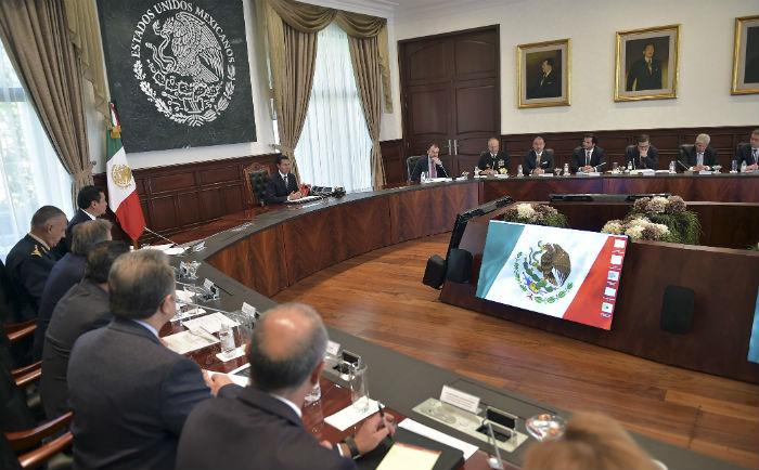 El nuevo gabinete, después de los cambios recientes. Foto: Cuartoscuro