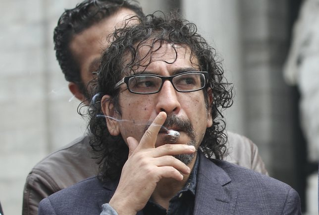 El escritor Fabrizio Mejía renunció a la Asamblea Constituyente. Foto: Cuartoscuro Archivo.