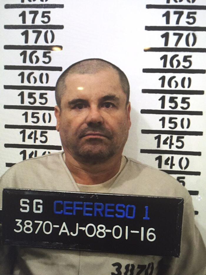 """La última detención de """"El Chapo"""" Guzmán se dio el 8 de enero del año pasado en Los Mochis, Sinaloa. Foto: Cuartoscuro"""