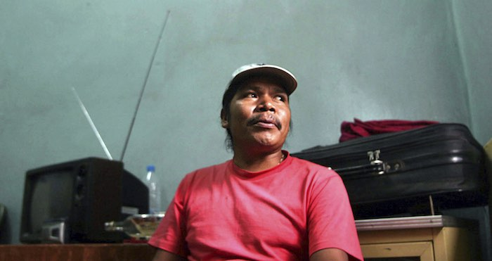 Isidro Baldenegro, defensor de los bosques de la Sierra Tarahumara. Foto: AP.