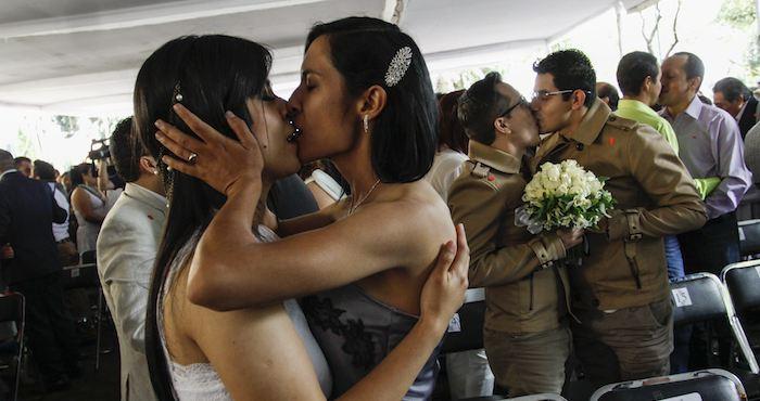 La nueva constitución protegerá a todas las uniones civiles, sin importar la preferencia sexual de las parejas. Foto: Cuartoscuro.