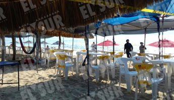 Playa Hornos de Acapulco. Foto: El Sur.
